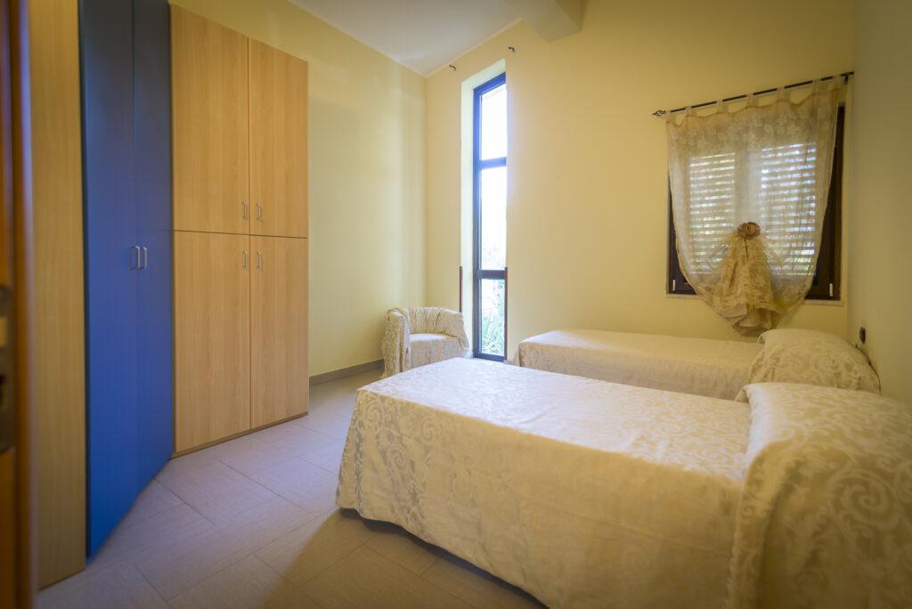 camera doppia residenza per assistenza sanitaria villa amica