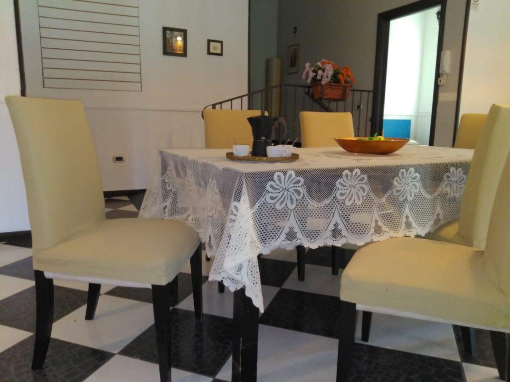 tavolo da pranzo residenza per assistenza sanitaria