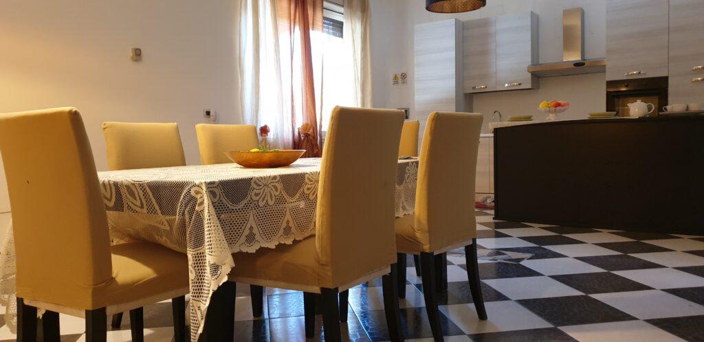 sala da pranzo casa per anziani villa amica